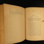 1899 Charles Darwin Origin of Species Evolution Survival of Fittest Science 2v