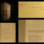 1852 VIKINGS 1st ed King Alfred the Great of Wessex Saxon England Poetry Kelsey