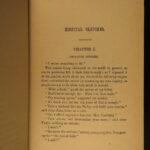1884 Louisa May Alcott Little Women Feminism Hospital Sketches Men Lilacs 4v SET