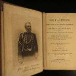 1886 Our Wild INDIANS Native American Tecumseh Sherman SCALPING Sioux Apache