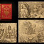 1857 Reynard the Fox by Goethe Reineke Fuchs Fable German Fairy Tale Illustrated