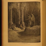 1884 John Milton Paradise Lost Gustave Dore Gallery Illustrated FOLIO Literature