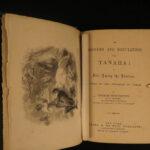 1856 1st ed TEXAS Rangers & Regulators Tenaha Indians Slavery Duels Wild West