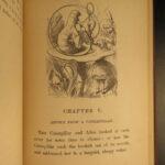 1872 Alice in Wonderland Lewis Carroll Tenniel Illustrated Fantasy Classic