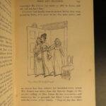 1894 1ed PEACOCK BINDING Pride & Prejudice Jane Austen Romantic English Thomson