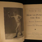 1904 Spalding BOXING Official Guide Sports Punching Bag Pugilism Training Rules