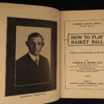 1925 Spalding Basketball Official Guide Sports Shooting Scoring Rules Illustrated