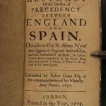1679 1ed Sir Robert Cotton King James England Politics English Parliament Law