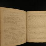 1700s LAW & JUSTICE Handwritten MANUSCRIPT Political Science Politics RIGHTS