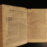 1682 Naples LAW Neapoli Biagio Aldimari Insurance Trade & Customs Italy FOLIO