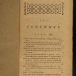 1766 Adventures of Gil Blas Le Sage Literature English RARE 4v SET Picaresque