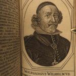 1659 Portraits of Thirty Years War France Louis XIV William II of Orange Brachel