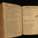 1689 HUDIBRAS English Civil War Samuel Butler Political Satire Poetry