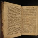 1726 Sebastian Castalione BIBLE New Testament anti Calvin Church Reformer London