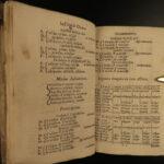 1685 LONDON Textbook William Camden Greek Grammar Latin Language RARE