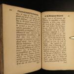 1677 1ed Letter to Deist Baruch Spinoza Stillingfleet anti DEISM Tractatus RARE
