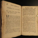 1681 1ed Connexion Reign of James I England PIRATES Voyages English Papists LAW