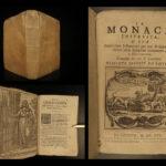1695 La Monaca Instruita Italian Monastics Manual NUNS Prayer Genoa Epebert