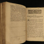 1650 GREEK Georg Pasor Bible Dictionary Lexicon London Hebrew Language 3in1