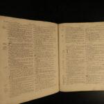 1790 Irish KJV Holy Bible DUBLIN Ireland George Grierson O/N Testament Apocrypha