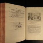 1743 HUGE FOLIO Bishops England Francis Godwin Anglican Church Latin Cambridge