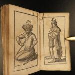 1633 1ed PERSIA Middle East Arabic Islam History Costume de Laet Iran Elzevier