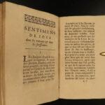 1683 Maxims of Saint Ignatius Loyola + Jesuit Saint Francis Xavier Sentiments