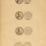 1687 1ed COINS Bizot Holland Medals Numismatics Naval Battles Ships England Kings