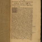 1658 1ed Burton on Antoninus Itinerary Roman Roads Colonial Maryland Provenance
