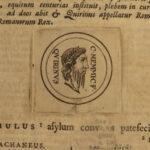1696 Aurelius Victor Historia Romana Augustus Caesar Theodosius Dutch Pitiscus