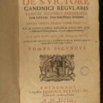 1648 Saxon Hugh Saint Victor Noah's Ark Bible Medieval Mysticism Augustine FOLIO