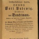 1756 Forensic Mathematics German Polack Civil LAW Property Lawsuit RARE Mathesis