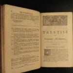 1760 English Mathematics Wingate Arithmetic London Math Problems Education