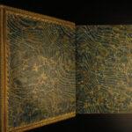 1846 EXQUISITE Oliver Goldsmith Irish Literature Poems Corney Illustrated
