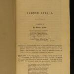 1854 1ed ALGERIA History French AFRICA Politics Arabs Turks Illustrated Morell