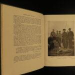1913 1ed Lost in ARCTIC Ejnar Mikkelsen Greenland Voyages MAP Denmark Alabama