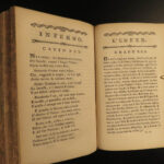 1776 1ed DANTE Divine Comedy Inferno de Clairfons SONGS OF HELL Florence Italian