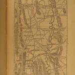 1866 1st ed US Grant Civil War Campaigns Vicksburg American Politics Illustrated
