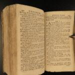 1692 BIBLE 1ed Greek New Testament Cagnolini Elzevier PADUA Italy RARE Vellum