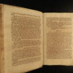 1600s LAW Handwritten MANUSCRIPT Treatise on Legal Commentary Juris Latin Vellum