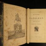 1840 Napoleon Bonaparte Bussey History French Revolution Vernet Illustrated