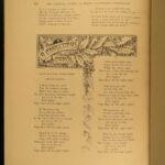 1879 FOLIO Henry Wadsworth Longfellow Song of Hiawatha Dante Divine Comedy 6v
