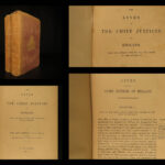 1849 LAW 1ed Lives of Chief Justices England British Judges Politics Campbell