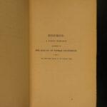 1854 John Keats Poetical Works English Poetry Eve of St Agnes BEAUTIFUL Binding
