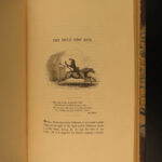 1831 Traditions of Lancashire Pendle WITCHES Witchcraft Mab's Cross John Dee