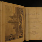 1848 1ed Mexican War United States Military Texas Alamo Mexico Mansfield Plates