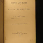 1892 Mary Baker Eddy Science and Health Christian Scientists Medicine New Age