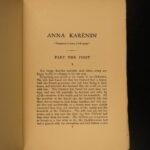 1904 BEAUTIFUL Leo Tolstoy Tolstoi War & Peace Anna Karenina Cossacks 29v SET