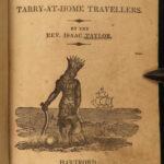 1829 America Scenes Native American Indians Lewis Clark Columbus Cortes Taylor