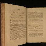 1777 FOLIO Scottish LAW Court Judges Edinburgh Scotland Monro Rolland Cockburn